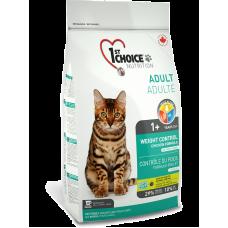 1ST CHOICE (Фёст Чойс) Корм Контроль Веса для кастрированных и стерилизованных кошек. Weight Control 1кг (на развес)