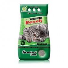 Наполнитель для туалета Super Benek (Супер Бенек) 5 л. Zielony Las (Зелёный лес)