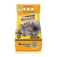 Наполнитель для туалета Super Benek (Супер Бенек) 5 л. Naturalny (Натуральный)