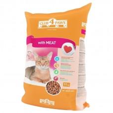 Корм для кошек Club 4 Paws мясное филе 1кг (на развес)