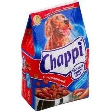 Корм для собак Chappi (Чаппи) с говядиной по-домашнему с овощами и травами 600гр