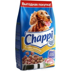 Корм для собак Chappi (Чаппи) мясное изобилие с овощами и травами 600гр