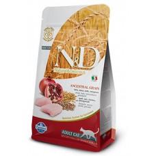 Н&Д Лоу Грейн Кэт Эдалт курица\гранат. N&D Low Grain Chicken&Pomegranate Adult 1кг (на развес)