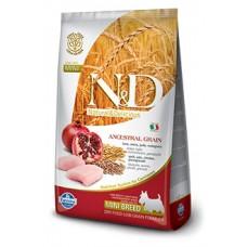 Н&Д Лоу Грейн Дог Эдалт Мини курица\гранат. N&D Low Grain Dog Chicken&Pomegranate Adult MINI 1кг (на развес)