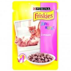 Корм для кошек Friskies (Фрискис) с курицей в подливе для котят 100гр