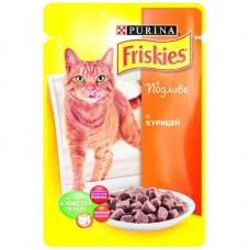 Корм для кошек Friskies (Фрискис) с курицей в подливе 100гр