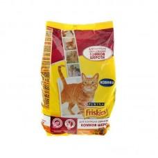 Корм для кошек Friskies (Фрискис) для контроля образ. комков шерсти с курицей и овощами 1.5кг