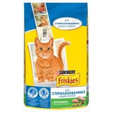 Корм для кошек Friskies (Фрискис) для стерил. кошек и котов, с кроликом и овощами 1.5кг