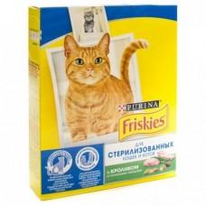 Корм для кошек Friskies (Фрискис) для стерил. кошек и котов, с кроликом и овощами 300гр