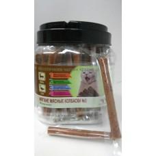 GreenQzin (Грин Кьюзин) Подвижность №3 (Мягкие мясные колбаски для кошек из оленя и утки) 1шт.