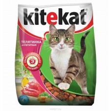 Корм для кошек Kitekat (Китекат) аппетитная телятинка 1,9кг