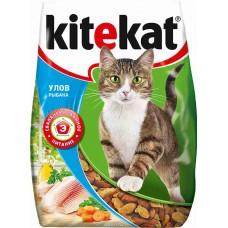 Корм для кошек Kitekat (Китекат) улов рыбака 1,9кг