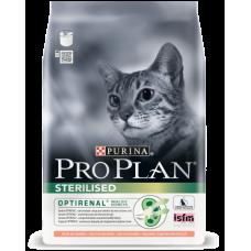 Корм для кошек Pro Plan ( Про План) с лососем для кастр. котов и стер.  1кг (на развес)