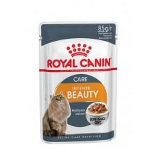 Корм для кошек Royal Canin (Роял Канин) Intense Beauty для взрослых кошек (кусочки в соусе) 85гр.