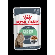 Корм для кошек Royal Canin (Роял Канин) Digest Sensitive для взрослых кошек (кусочки в соусе) 85гр.