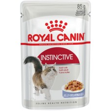 Корм для кошек Royal Canin (Роял Канин) Instinctive для взрослых кошек (кусочки в желе) 85гр.