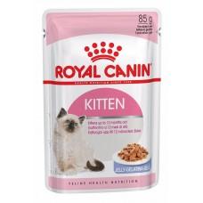 Корм для кошек Royal Canin (Роял Канин) Kitten in Jelly (кусочки в желе) 85гр.