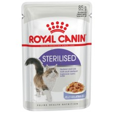 Корм для кошек Royal Canin (Роял Канин) Sterilised для взрослых кошек (кусочки в желе) 85гр.