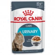 Корм для кошек Royal Canin (Роял Канин) Urinary Care для взрослых кошек (мелкие кусочки в соусе) 85гр.
